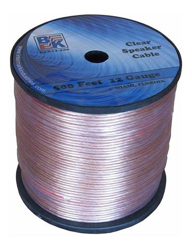 cable gemelo forro transparente p parlantes precio por metro
