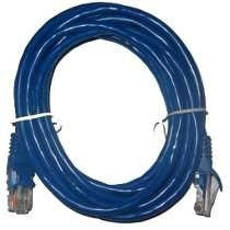cable patchcord intellinet cat5e utp azul 3 mts.