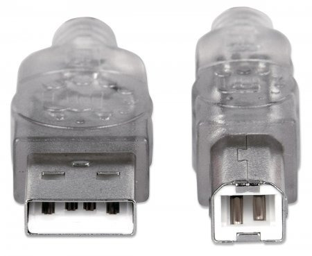 cable usb 2.0 a/b  4,5 mts manhattan