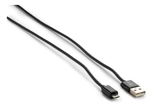cable usb macho a micro usb 1 metro negro calidad premium ®