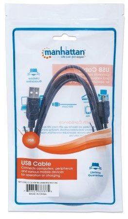 cable usb v2.0 a mini b 1.8m - negro