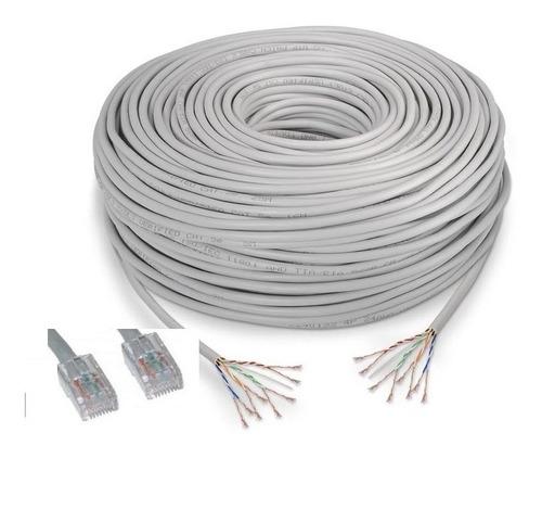 cable utp cat5e 50 metros - hecho en aleación de aluminio