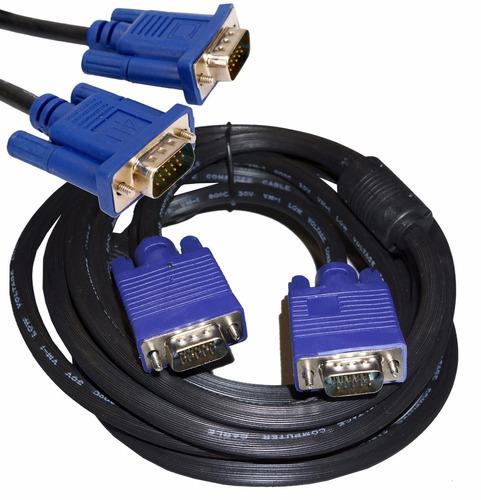 cable vga a vga 3m 15j66  mallado