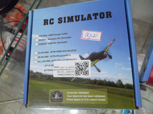 cabo de simulador aeromodelo rc