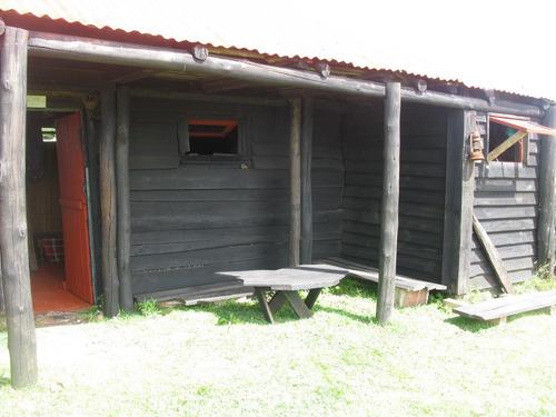 cabo polonio alquilo simpatica cabaña-rancho con entrepiso