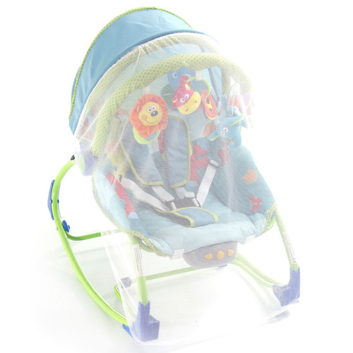 cadeira de balanço - bouncer sunshine baby pets world - saf