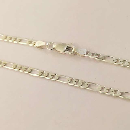 cadena cartier en plata 925 de 60 cm de largo x 0,3 cm