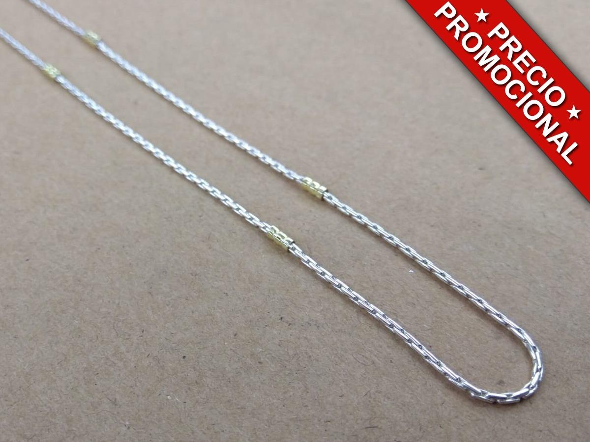 8118f2d54ce5 cadena de plata y oro mcpo325. Cargando zoom.