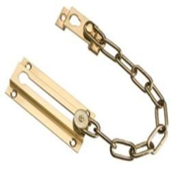 cadena de seguridad, tranca puerta