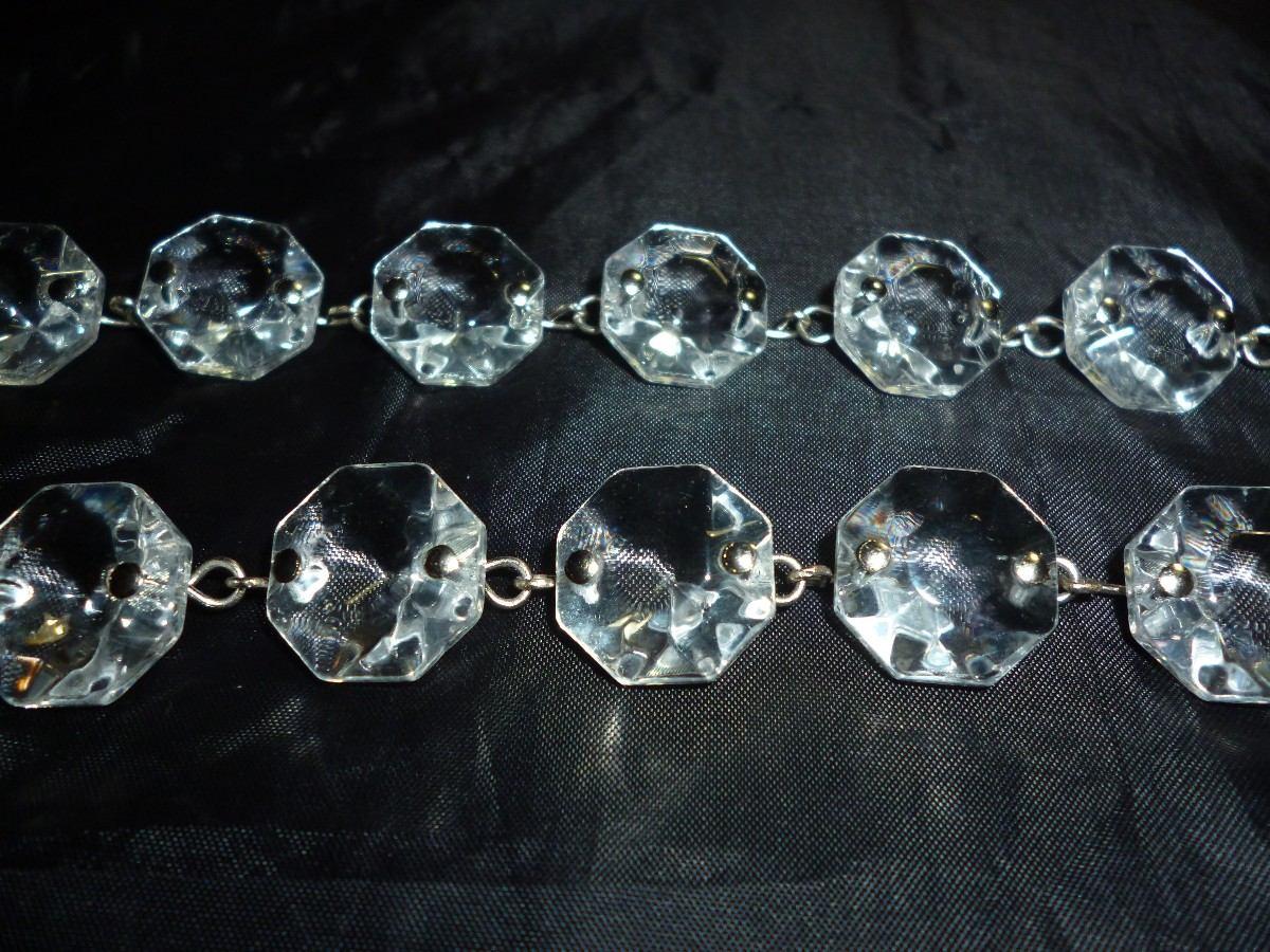 Caireles De Cristal Cadena Guia Para Decoraciones Lamparas KJcl5uT1F3