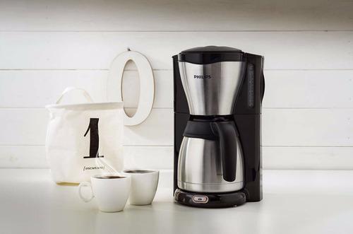 cafetera de filtro philips hd7546/20 elegante jarra termica