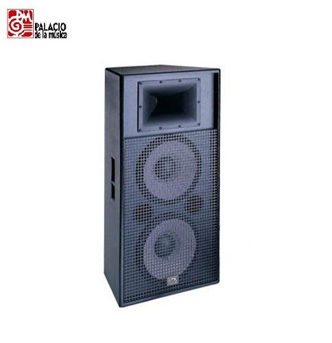 caja acústica soundking jb2215 2  15 + driver 1200 watts