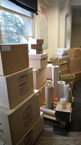 caja de carton para envíos 52 x 35 x 20 cm