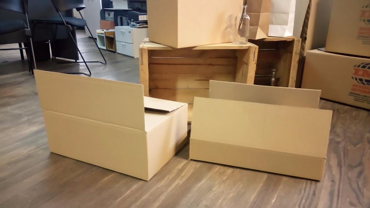 Caja De Carton Para Envíos 52 X 35 X 20 Cm 5000 En Mercado Libre
