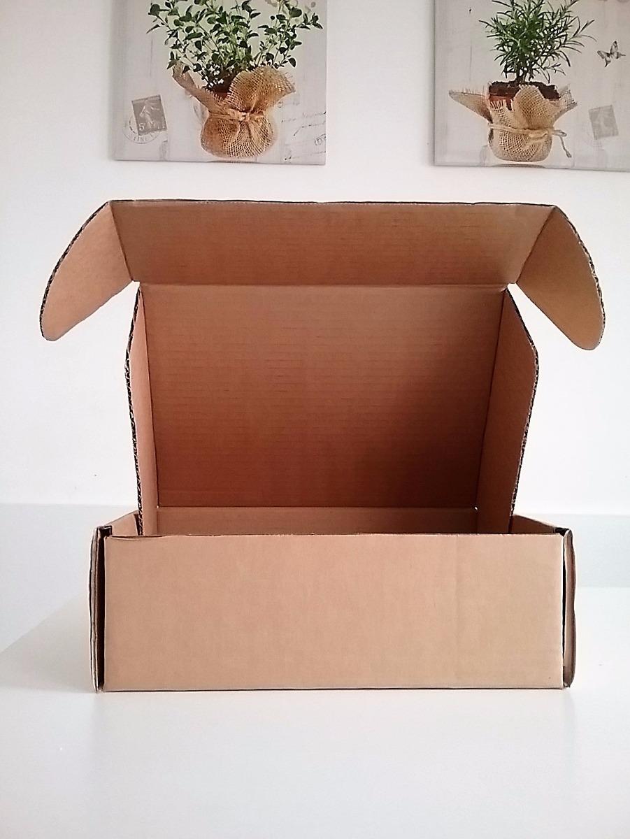 Caja De Carton Para Envíos Mediana 31 X 23 X 11 Cm 4000 En