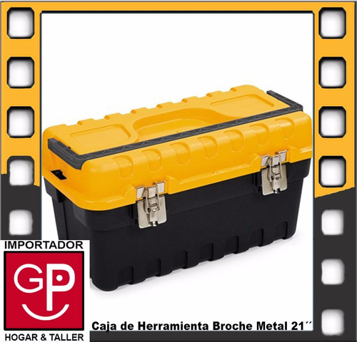 caja de herramienta 21´´ broche metal strongo sm03