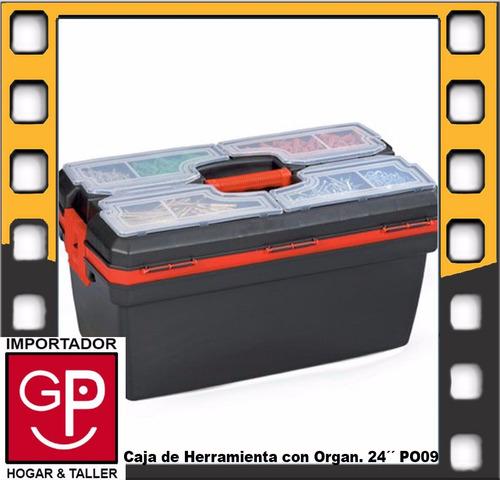caja de herramienta 24´´ con organizador po09