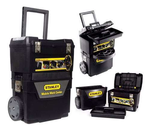 caja de herramienta rolling stanley porta herramientas +caja