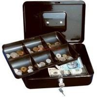 caja de seguridad metálica makro c/llave 19.5 x 15.3 x 8.5