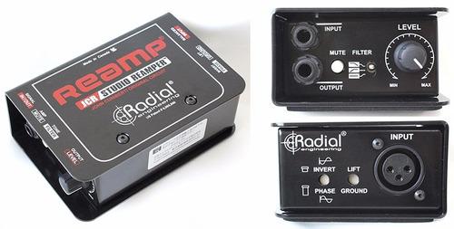 caja directa radial reamp jcr