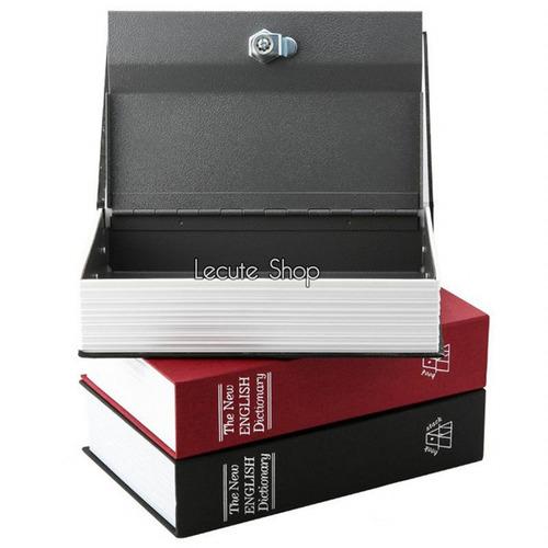 caja fuerte en forma de libro 24 cm seguridad camuflaje esco