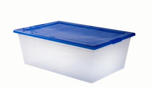 caja organizadora 10 litros 38 x 26 x 14 cm wenco