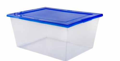 caja organizadora 15 litros 38 x 29 x 18 cm wenco