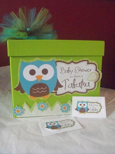 caja para sobres en tu evento incluye 30 sobres baby shower