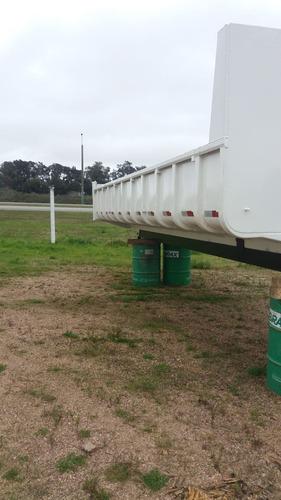 caja volcadora para camión 10m3 mod. barandas / casamba