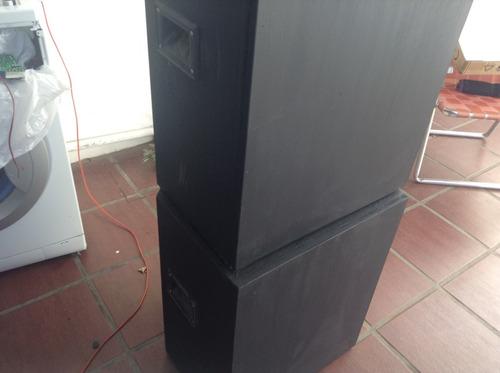 cajas de audio profesionales 18 pulgadas