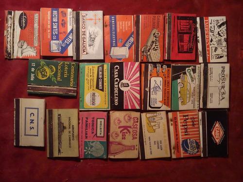 cajas fosforos coleccionables