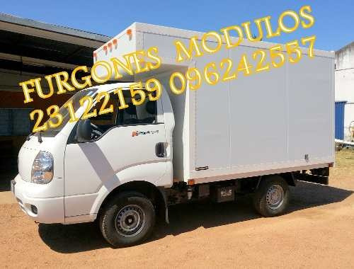 cajas furgones y chatas  para kia bongo