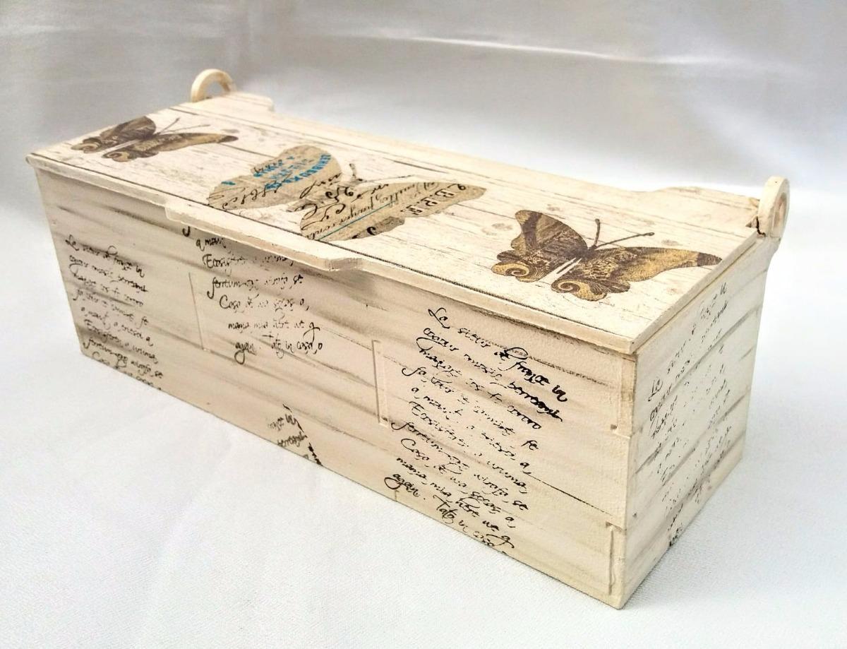 Cajas Madera Decoradas Te Alhajero Variedad Consulte Precios 395