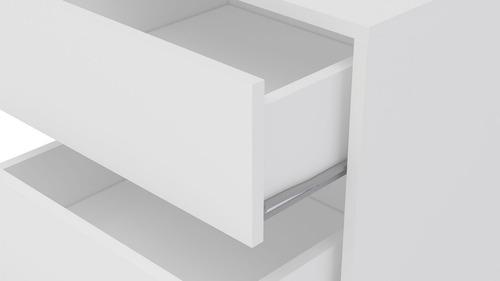 cajonera auxiliar escritorio movil riel metal mobelstore