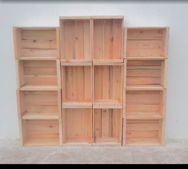 Cajones de madera para frutas y verduras 150 00 en - Cajones de madera para frutas ...