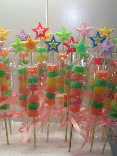 cake's pop o trufas y brochettas dulces