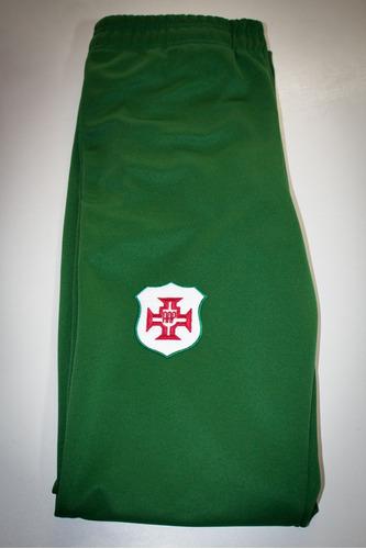 calça - portuguesa santista - verde - marca briosa