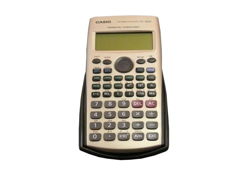 b3fd8ef2a4b4 calculadora financiera casio fc 100 v. Cargando zoom.