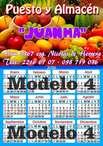 calendario almanaque en iman 2019 modelo 1