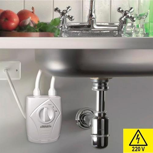 calentador de agua lorenzetti 6400w 220v