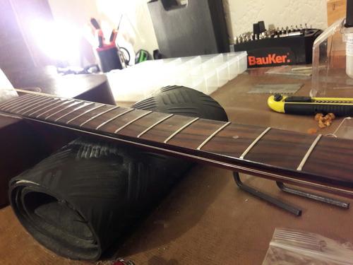 calibración guitarra luthier