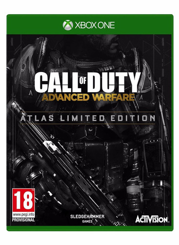 call of duty advanced warfare atlas limited edition xbox one