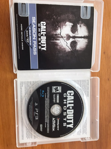 call of duty ghost para ps3