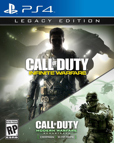 call of duty infinite warare y modern warfare