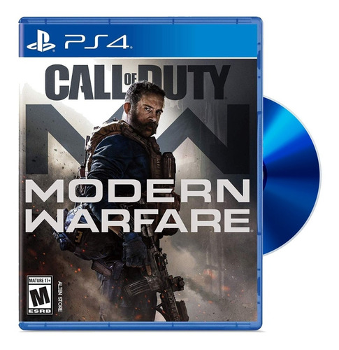 call of duty modern warfare 2019 fisico sellado ps4 español