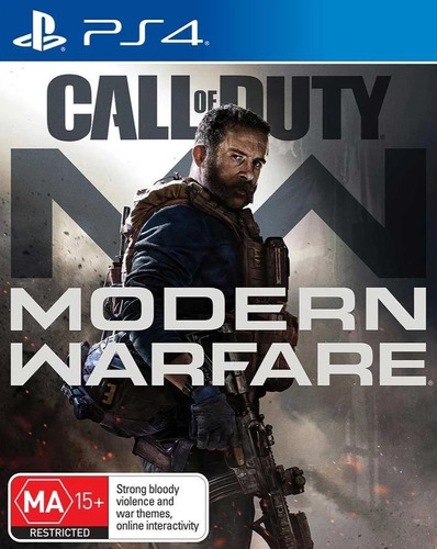 call of duty modern warfare de ps4 - fisico - nuevo sellado