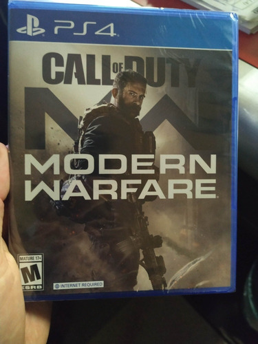call of duty modern warfare ps4 físico.