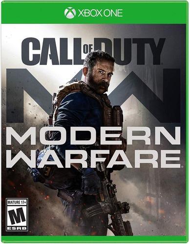 call of duty modern warfare xbox one físico original