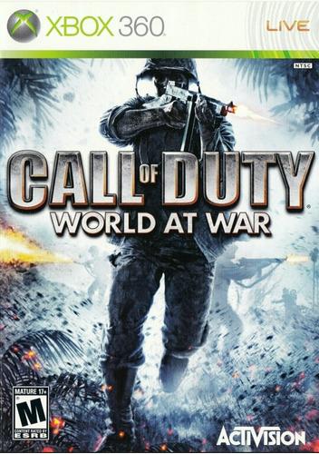 call of duty world at war ww2 ps3 y 360 + juego free oferta