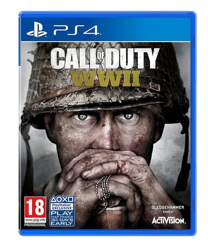 call of duty ww2 playstation 4 ¡oferta mundialista!